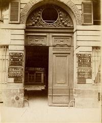 hôtel 132, [137] rue vielle du temple by eugène atget